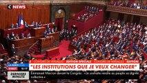 """Congrès de Versailles: Emmanuel Macron appelle à """"en finir avec cette recherche incessante du scandale"""" - Regardez"""