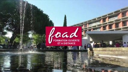 Présentation de l'offre FOAD à l'Université Toulouse Capitole