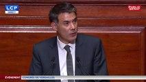 Discours d'Olivier Faure devant le Congrès à Versailles