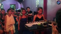 Thai Bar Girl Does Ten Shots Of Tequila In Two Minutes