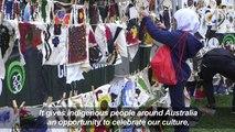 Australians celebrate ancient indigenous culture