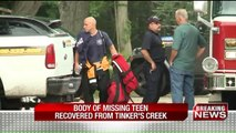 Body of Missing Teen Recovered from Ohio Creek