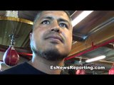 Robert Garcia on cicilio flores working with nonito donaire - EsNews Boxing