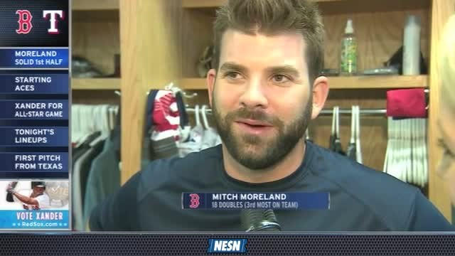 Red Sox Gameday Live: Mitch Moreland On Return To Texas
