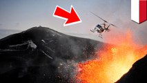 Gunung berapi di Jawa Tengah meletus, 8 orang meninggal dalam kecelakaan helikopter - TomoNews