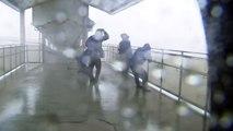 90mph winds batter Japan as Typhoon Nanmadol makes landfall