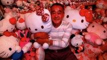 Japon: la plus grande collection de poupées Hello Kitty du monde