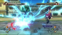 Tormenta último naruto shippuden Ninja 4 hanabi / hinata / neji vs Sarada / sakura / sasuke [1080