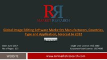 Image Editing Software Market Analysis 2012 – 2016 and Opportunity Assessment 2017 – 2022