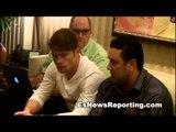 Canelo Alvarez: Oscar De La Hoya will win his battle and so will I - mayweather vs canelo EsNews