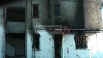 Report TV - Thumanë,digjet banesa,familja me 6 anëtarë në qiell të hapur