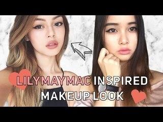 LilyMayMac Inspired Makeup Look