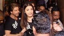 Shah Rukh Khan & Anushka Sharma Mobbed By Crazy Fans