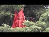Report TV - Leckoset flamuri kombëtar në Gjirokastër, Bashkia: Do e ndërrojmë