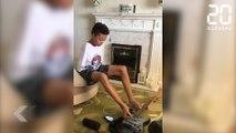 Un enfant sans bras virtuose de la guitare ! - Le Rewind du mercredi 04 Juillet 2017
