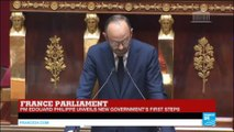 "Edouard Philippe Addresses Parliament: ""What brings us together is our culture"""