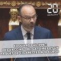 Edouard Philippe sur la santé : les vaccins seront obligatoires et le paquet de cigarettes à 10 euros