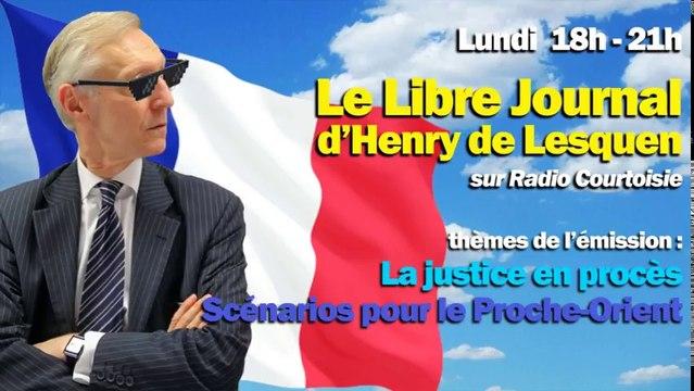 Radio Courtoisie 3-07-2017 mots d'adieu de Henry de Lesquen