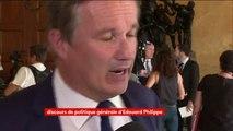 """#EdouardPhilippe """"était précis mais m'a inquiété par les mesures, Nicolas Dupont-Aignan (DLF)"""