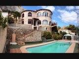 Location vacances Maison avec piscine à Calpe (Calp) – Villa à louer  proche mer et Plages de Calpe Costa Blanca