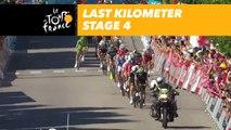 Flamme rouge - Étape 4 / Stage 4 - Tour de France 2017