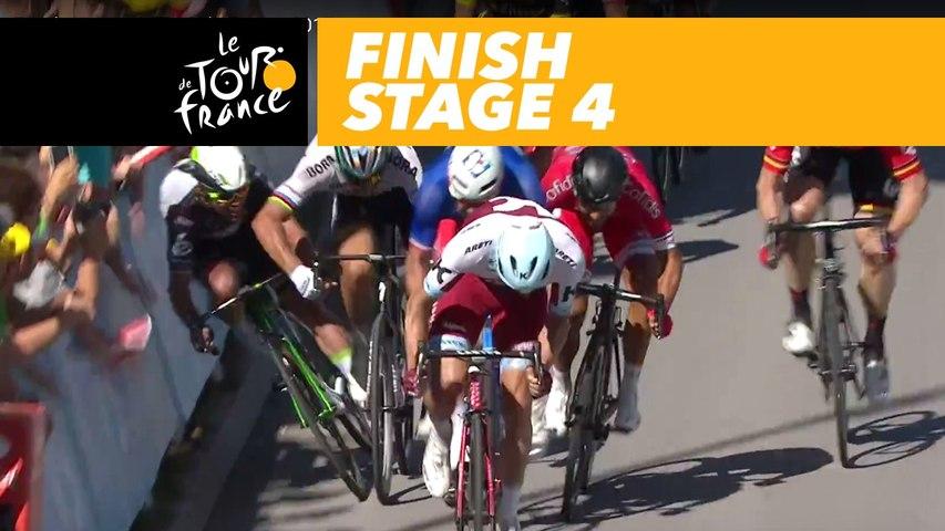 Arrivée / Finish  - Étape 4 / Stage 4 - Tour de France 2017