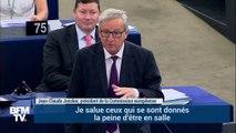 """""""Vous êtes ridicules"""". Le coup de gueule de Junker contre l'absentéisme des eurodéputés"""