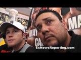 canelo alvarez inside the ring i respect no one - EsNews Boxing mayweather vs canelo