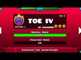 'TOE IV' 100% COMPLETE (All Coins) By DarwinGD! (EASY DEMON?) | Geometry Dash [2.1] - Dorami