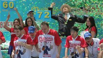 Joey Chestnut Wins 10th Hot Dog Crown