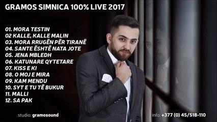 Gramos Simnica Mora rrugen per Tirane Live 2017