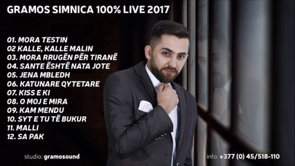 Gramos Simnica Sonte eshte nata jote live 2017