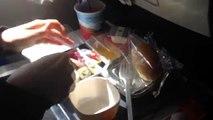 Dans le nourriture avion Aeroflot de Moscou à Tokyo ☕ délicieux examen alimentaire