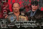 Judgement Day | Stone Cold Steve Austin vs. The Undertaker