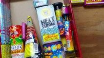 Extraterrestre des feux dartifice première aide feu dartifice assortiment déballage