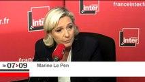 """Marine Le Pen sur la mesure rendant obligatoire 11 vaccins : """"ça va remplir les poches des grands laboratoires."""""""