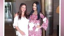 Celina Jaitly And Esha Deol Flaunt Baby Bumps Together
