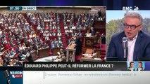 Brunet & Neumann: Avec son programme, Edouard Philippe peut-il réformer la France ? - 05/07