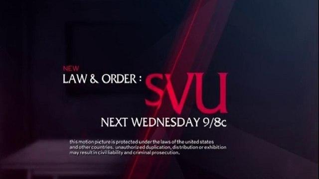 Law & Order: SVU - Promo 16x18