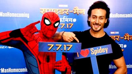 Tiger Shroff at The Special Screeing of Spider Man Homecoming