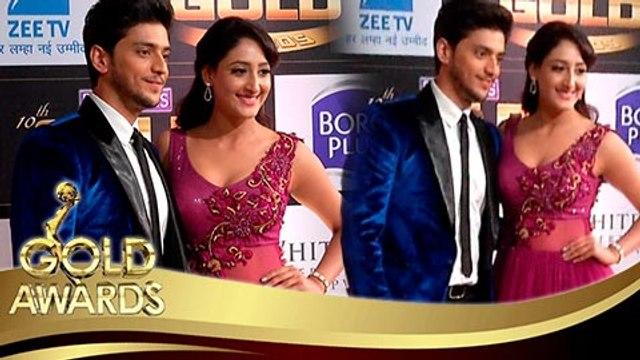 Shivya Pathania Annd Kinshuk Vaidya Together At Zee Gold Awards 2017 | Red Carpet