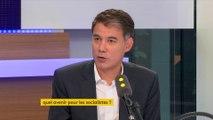 """""""Les produits d'appel de la campagne d'Emmanuel Macron sont reportés aux calendes grecques"""", juge Olivier Faure"""