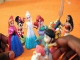 MOANA ADOPTS AGNES GRU DESPICABLE ME 3 BOWSER SUPER MARIO MINNIE MOUSE ANNA ELSA MINIONS DISNEY LITTLE MERMAID ARIEL Toy