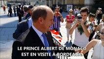 Albert De Monaco A Bordeaux