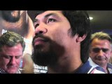 Manny Pacquiao says his favorite Kareoke song