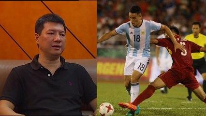 BLV Quang Huy- -Trận thua U20 Argentina giúp U20 Việt Nam biết mình đang ở đâu-