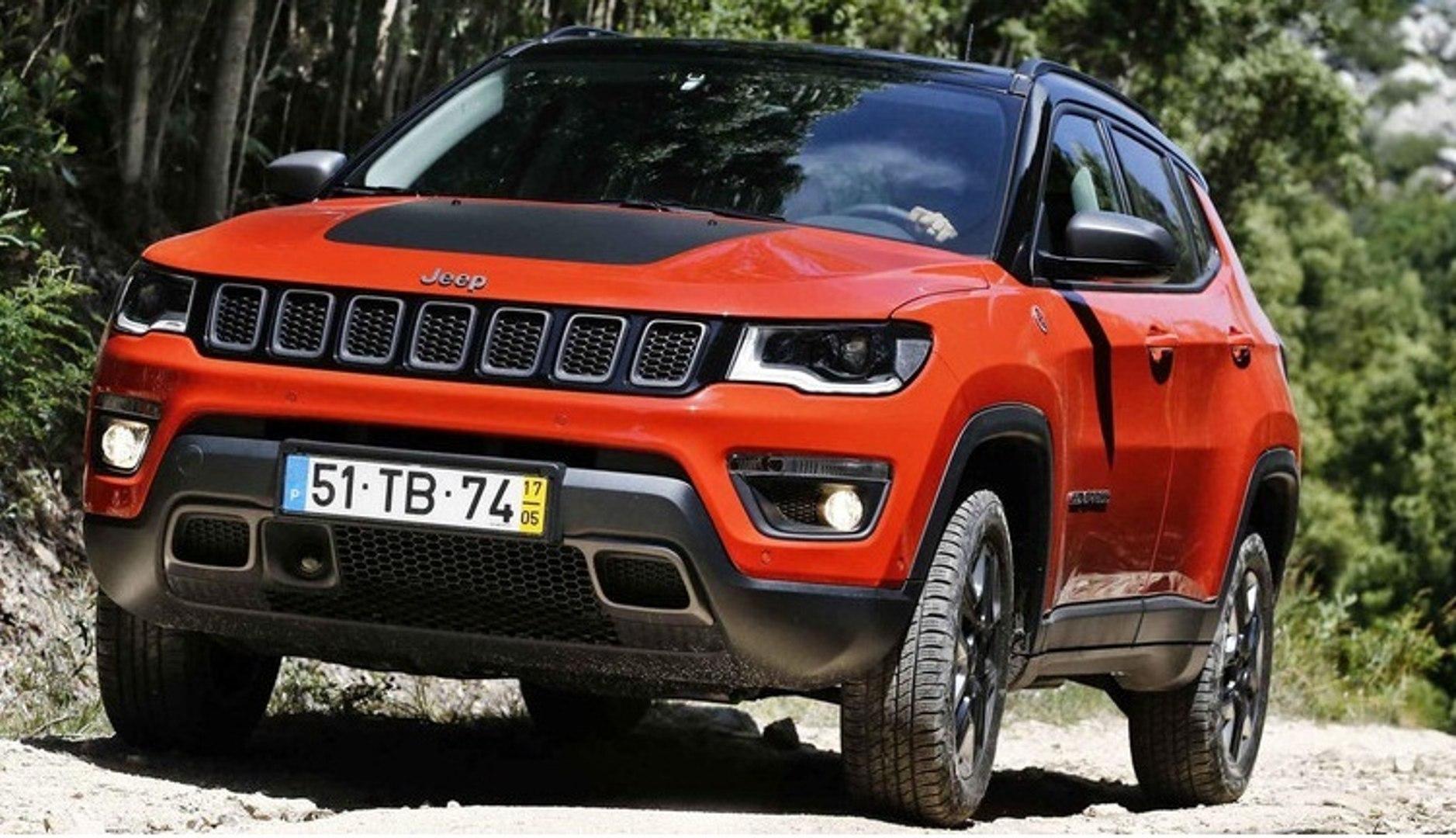 2018 Jeep Compass Vs Range Rover Evoque Video Dailymotion