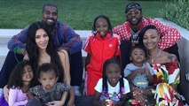 Kim Kardashian And Kanye West's 4th July Feast Celebrations