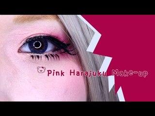 Pink Harajuku Make up