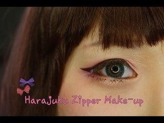 Harajuku Zipper Make-up